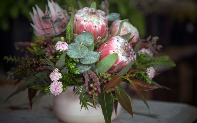 Beautiful wild flowers in a pot | Mornington Peninsula Wild Flowers & Bloom Boutique