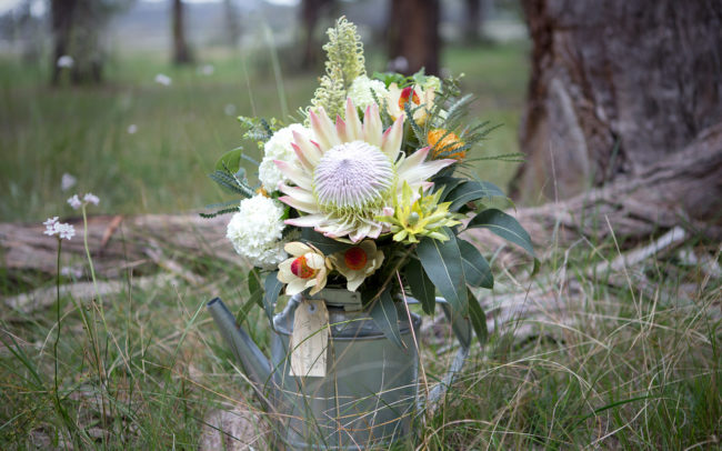 Beautiful wild flowers in a vase | Mornington Peninsula Wild Flowers & Bloom Boutique