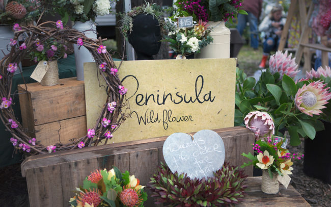 Peninsula Wild Flower (Photo of beautiful wildflowers in a market stall) | Mornington Peninsula Wild Flowers & Bloom Boutique