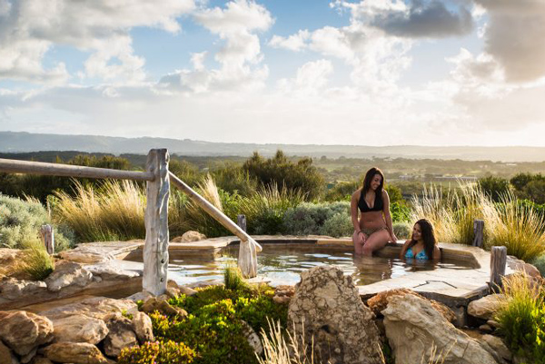 Hilltop Pools | Peninsula Hot Springs