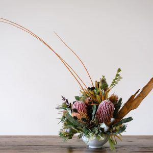 Banksia in a bowl